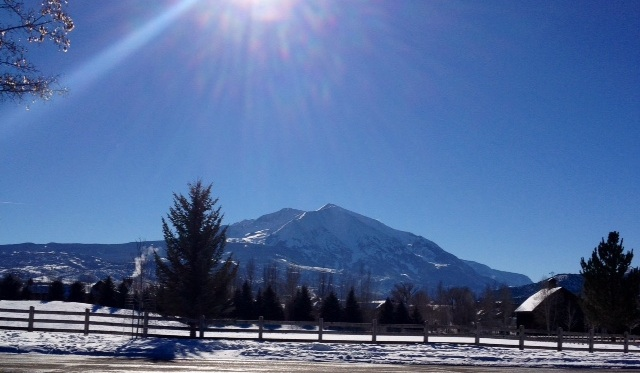 Dear Mount Sopris, my 40th birthday goal.